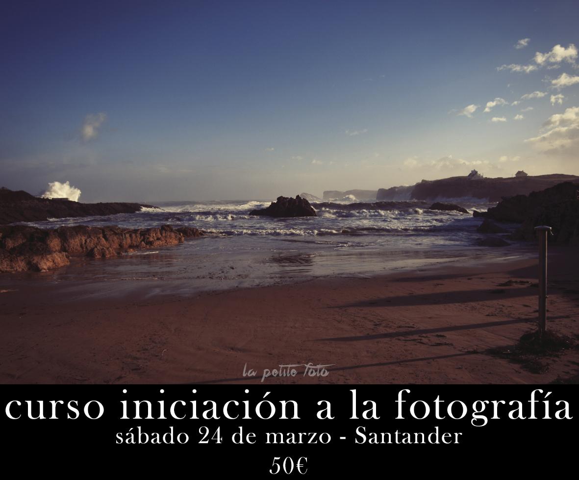 Curso iniciación a la fotografía Santander